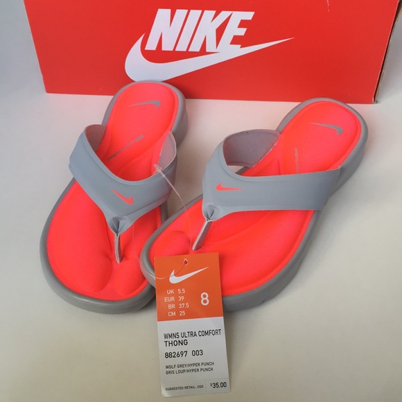 2292ae026059 NWT   box Nike ultra comfort thong sandals